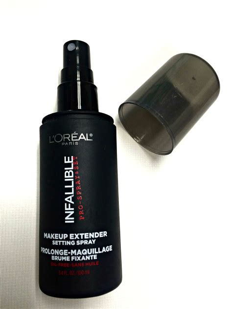 Harga Setting Spray Loreal l oreal infallible makeup setting spray review mugeek