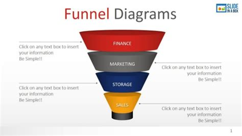 Funnel Diagrams Template By Slideinabox Email Funnel Templates