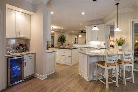 island peninsula kitchen wide open kitchen design for entertaining