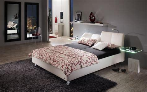 chambre a coucher grise meubles nibema 10 photos