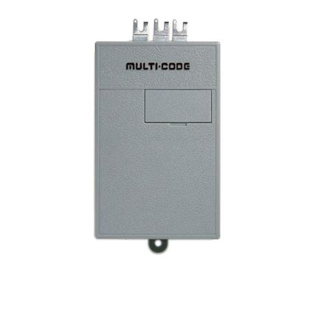 multi code 1090 single channel gate garage door opener
