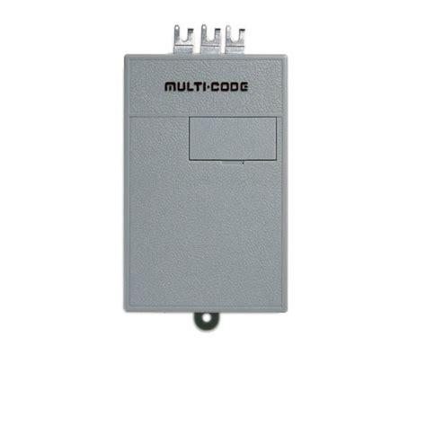 Multi Code Garage Door Remote Multi Code 1090 Single Channel Gate Garage Door Opener Radio Receiver By Linear Mcs109020 Multicode