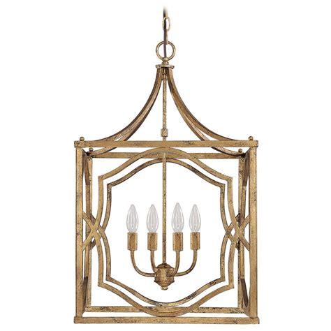 gold pendant light capital lighting antique gold pendant light 9482ag