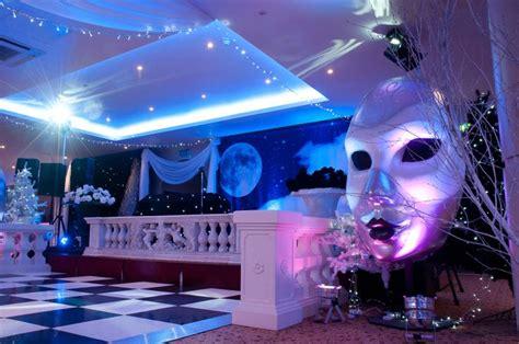 black decorations uk black white masquerade at the auction house photo