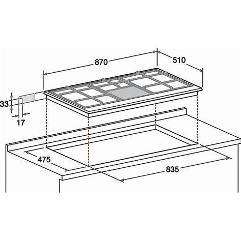piano cottura ariston 90 hotpoint ariston ph 941ms ix ha piano cottura combinato