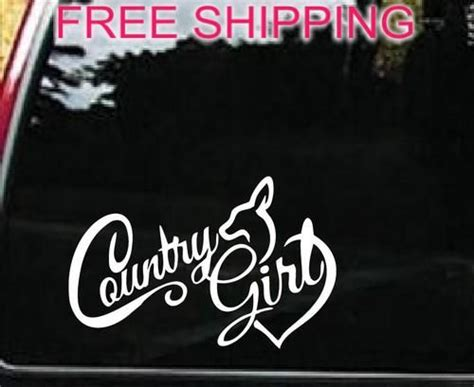 Country Stickers For Cars