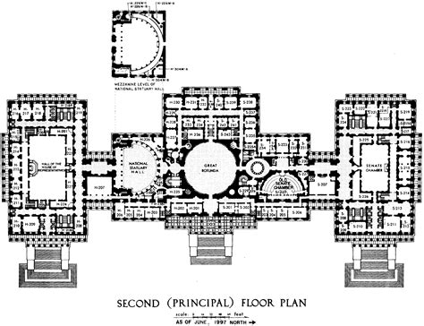 floor plan of the us capitol building file us capitol second floor plan 1997 105th congress gif