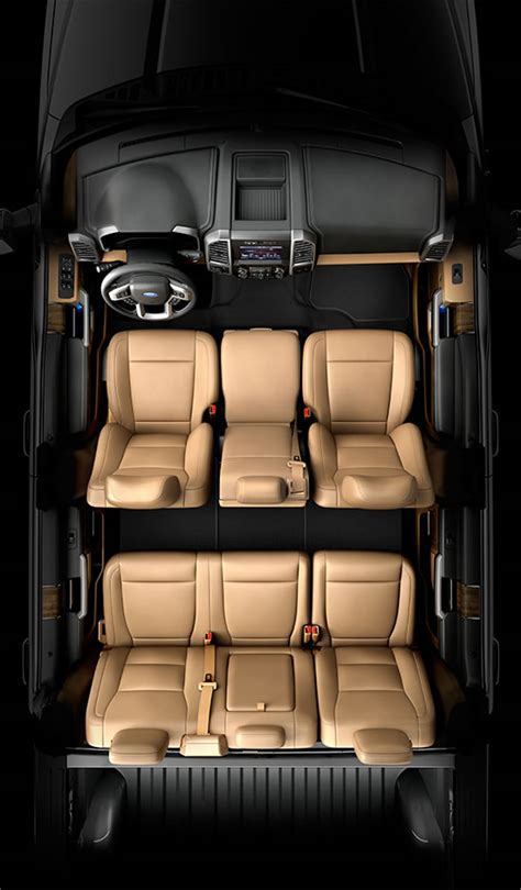 ford truck seats 6 differences between 2014 and 2015 ford f 150