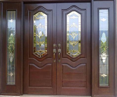 contoh desain pintu depan rumah 11 contoh pintu minimalis elegan terbaru 2015 gambar