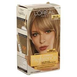 free box of l oreal hair color