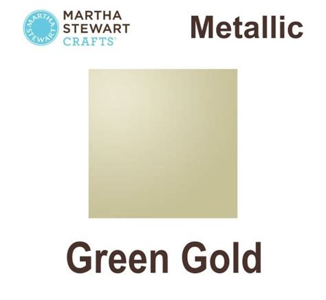 martha stewart paint ms craft metallic green gold pl32997 hobbyworld se