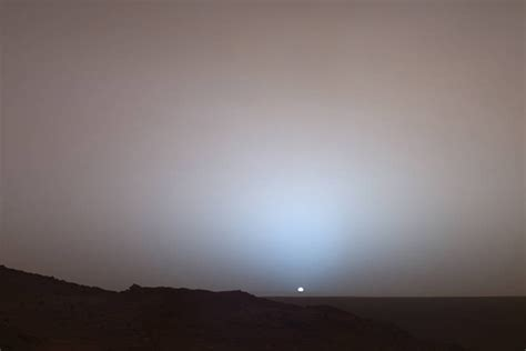 what is the color of the sky what color is the sky on mars serious science