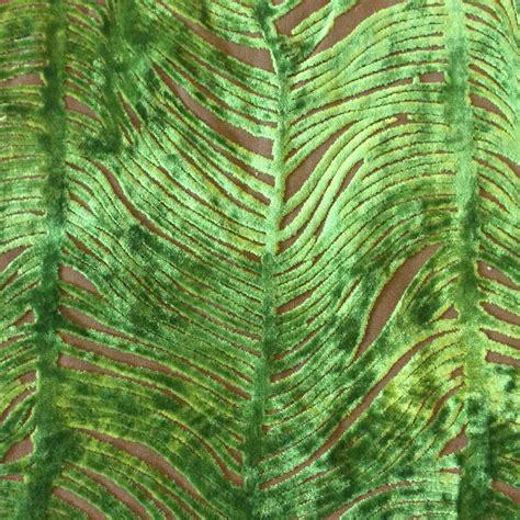 peacock blue velvet upholstery fabric peacock plume luxurious cut velvet citrus green heavy