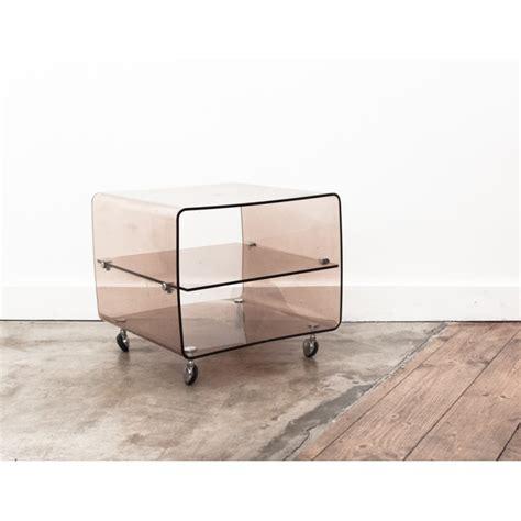 table basse plexiglas transparent best table de chevet en plexiglas range vinyles roche with
