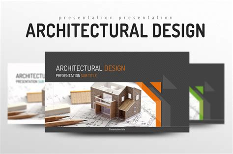 architectural design presentation templates on creative