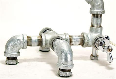 Plumbing Base by Plumber S Parts Modern Custom Desk L Custom Lighting