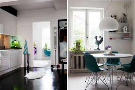 Studio Furniture Ideas by A Surprisingly Spacious 60 Square Meter Residence