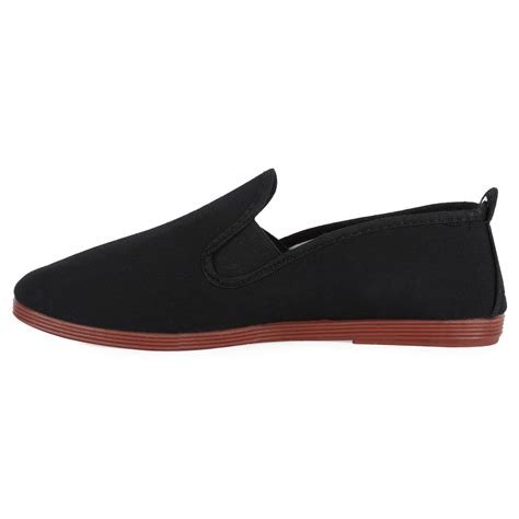 plain black flat shoes womens black plain casual shoes classic flat pumps