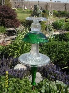 glass yard art glass projects pinterest