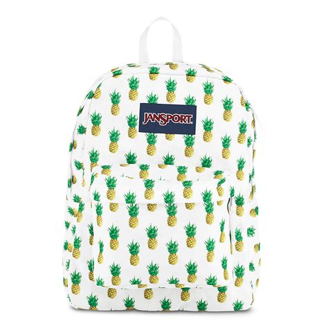 Black White And Gold Home Decor by Jansport Superbreak Backpack Pineapple Multi