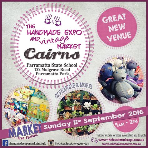 The Handmade Expo - cairns events event details the handmade expo