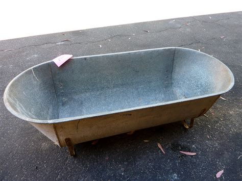 old metal bathtubs metal tub like this itemantique tin tub for sale metal