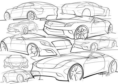 sketch book car sketch scottdesigner