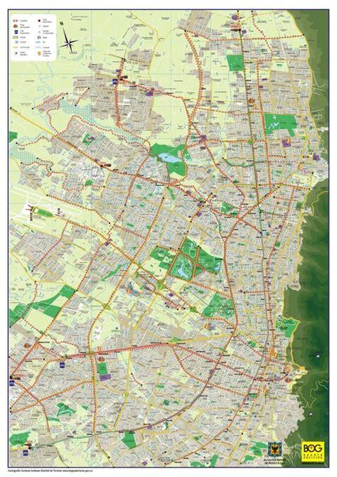 mapa de colombia bogot amrica del sur motorcycle review and mapa de las ciclorrutas de bogot 225 bogot 225