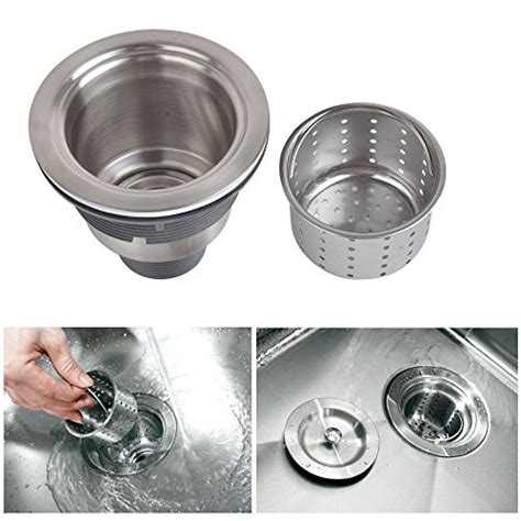 kone 3 1 2 inch kitchen sink strainer with removable
