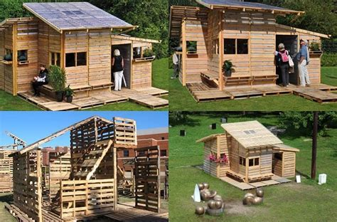 diy pallet house home design garden architecture