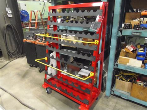 Tooling Racks by Miscellaneous Machines Wisconsin Metalworking Machinery