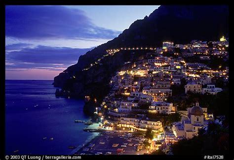 coast lights picture photo lights on positano amalfi coast cania