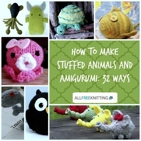 sock animals how to make how to make stuffed animals with amigurumi 32 ways