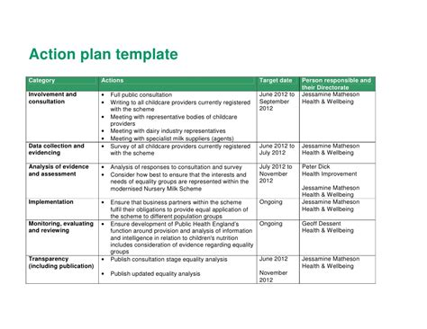 image gallery nursery action plan