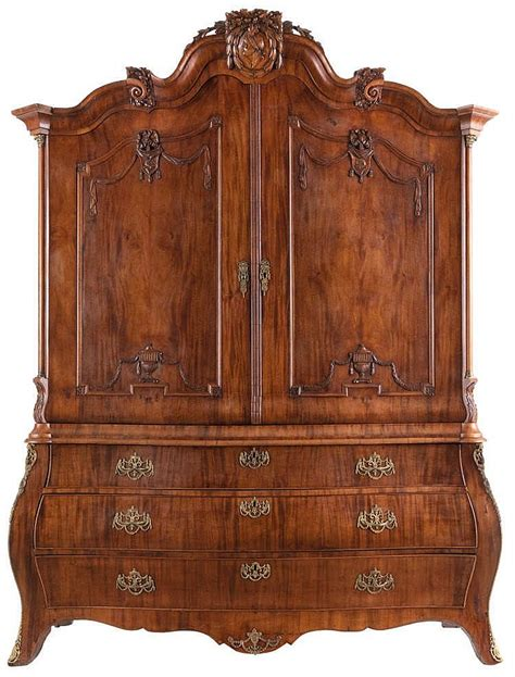 cabinet cornice cabinet walnut arched moulded cornice above two panelled d