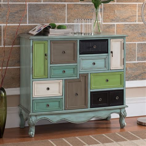 wildon home 174 freemanstown 9 drawer 2 door cabinet