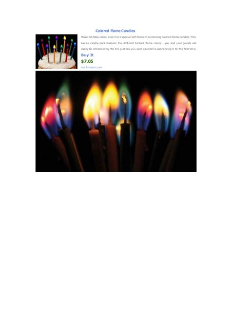 how to make colored flames colored candles how to make