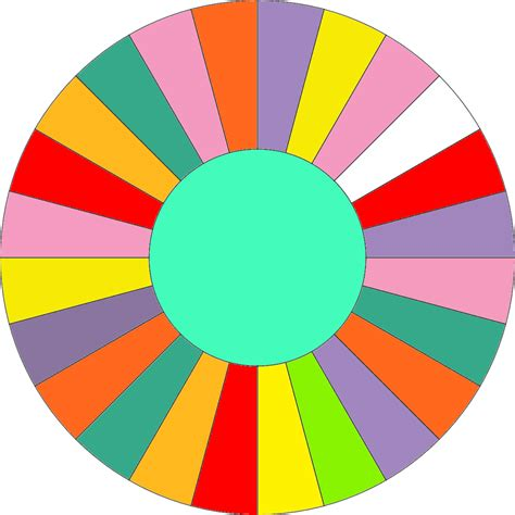 wheel of fortune template blank wheel with no bankrupts by leafman813 on deviantart