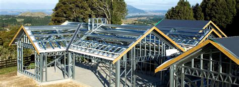 Shed Roof Home Plans steel framing solutions ezisteel co nz