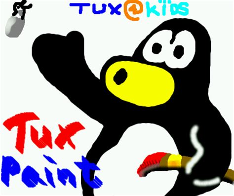 tux painting tux paint artist gallery
