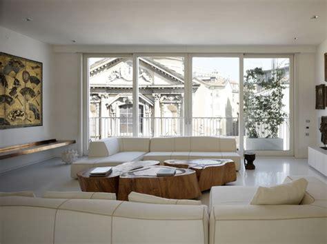 design apartment milan white shades define luxurious multistory milan apartment