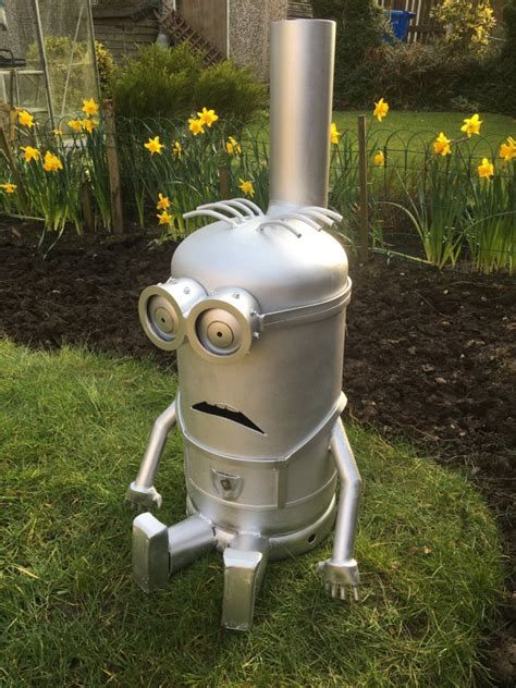 minion chiminea minion houtkachel log chiminea terrasverwarming outdoor