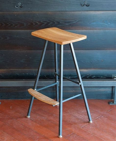comfortable bar stools for kitchen modern industrial bar stool or kitchen stool both
