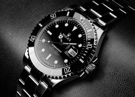 black rolex  mac heat