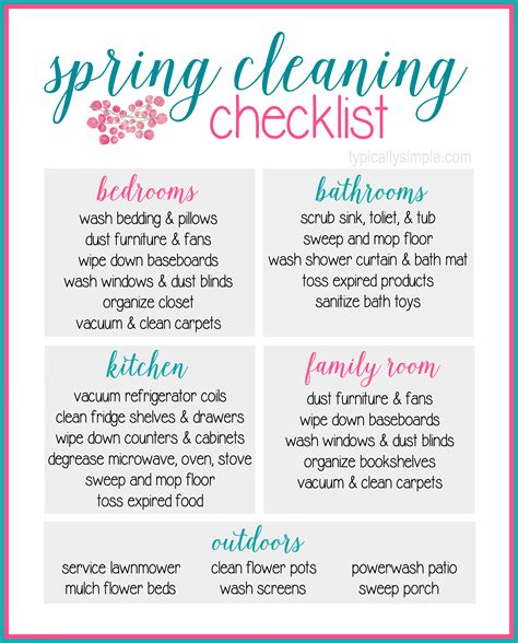 spring cleaning ideas wash away winter with simple spring cleaning tips