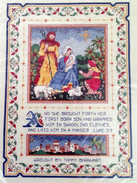 patterns for christmas nativity 131 best cross stitch nativity images on pinterest cross