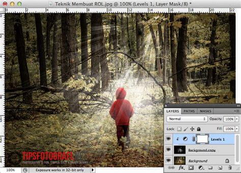 cara edit foto x ray tutorial graphic design membuat efek rol ray of light