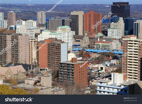 Address Lookup Hamilton Ontario Aerial View Of Downtown Hamilton Ontario Canada With Lake Ontario On Background And