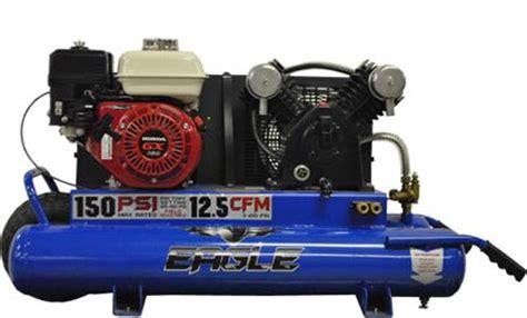 eagle ttg portable gas air compressor  lawnmower hospital