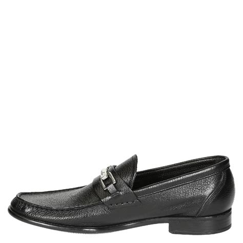 Handmade Loafers For - handmade black grain leather loafers for